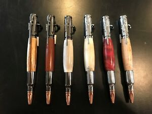 30 cal Bolt Action Bullet Pen Parker style refill your choice!