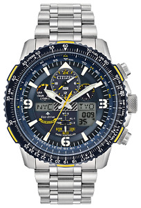 NEW Citizen Eco-Drive JY8078-52L Blue Angels Skyhawk Chronograph 46mm Watch
