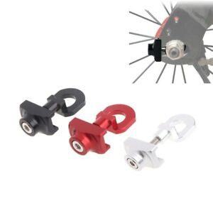 US Aluminum Bicycle Chain Tensioner Adjuster Fastener Bolt For BMX Fixie Bike