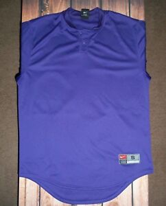 NIKE DRI-FIT PURPLE ATHLETIC SHIRT TOP MENS SIZE SMALL NWOT