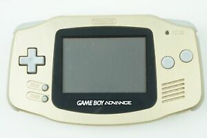 Nintendo Gameboy Advance Gold Console GBA From Japan