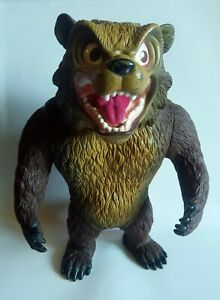 MUTANT GRIZZLY BEAR BASS PRO SHOP TUFF GUYS LOCK JAW ACTION FIGURE BIG VINYL TOY