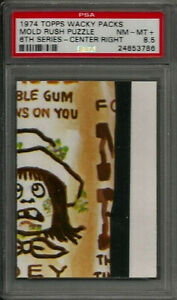 1974 Topps Wacky Packages Mold Rush Puzzle Center Right 6th Ser. PSA 8.5 NM-MT+