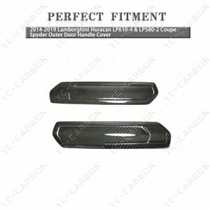 DCF Coupe Spyder Outer Door Handle Cover For 14-19 Huracan LP610-4