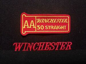 WINCHESTER FIREARMS AA Shooting Patch 50 straight Ammunition Lever Action $5.95
