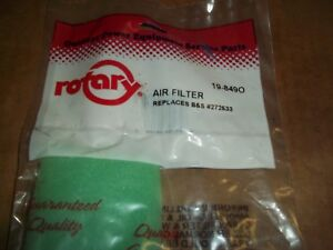 ROTARY 19 8490 PRE FILTER CROSS WITH Bamp;S 272533