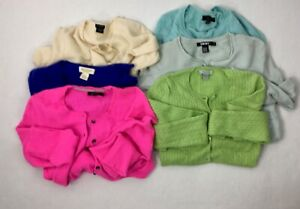 Cashmere Sweater Craft Cutter Lot Upcycle Or Wear Preowned Lot Of 6 🌈colors
