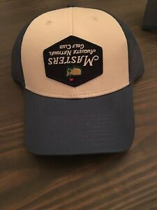 EXTREMELY RARE- 2019 Masters Augusta National Hat-Upside Down Logo-Tiger Woods