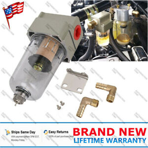 Engine Oil Separator Catch Reservoir Tank Can Baffled for Honda Civic Acura SP