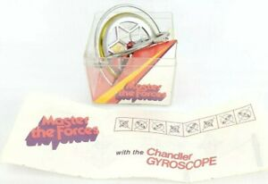 Vintage Master the Forces Gyroscope Top Spinner Toy 80#x27;s Retro