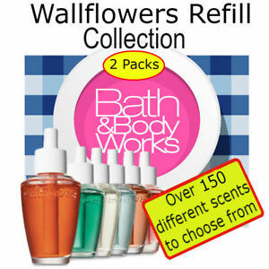Bath and Body Works Wallflowers Refill Set (2 Pack) *Pick from 150+ Scents*