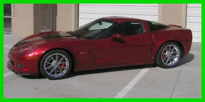 2008 Chevrolet Corvette 427 Crystal Red Limited Edition Wil Cooksey Signed 2008 Chevrolet Corvette 427 1SA Crystal Red Limited Edition 7L 6-Spd Manual