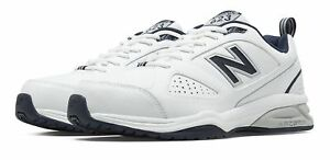 New Balance Men#x27;s 623v3 Shoes White with Navy