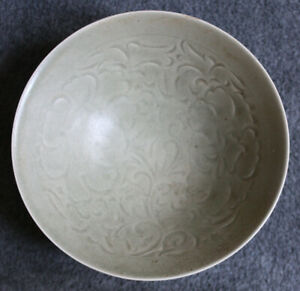YAOZHOU CARVED CELADON CONICAL BOWL - SONG DYNASTY - 7