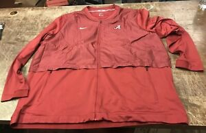 University Of Alabama Crimson Tide Football Team Issued Long Sleeve Pullover 4xl