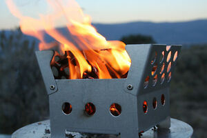 New Cube Stove w 3 Month Fuel Supply by QuickStove - Perfect for Camping