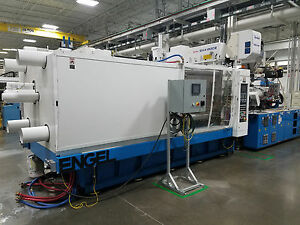 2005 Engel 600 ton Two-shot Two-Color Injection Molding Machine