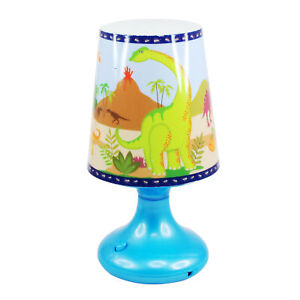 Dinosaur Color Changing Blue and Green 8 x 4 Acrylic Table Lamp Nightlight $20.95