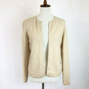 Cashmere Sweater Craft Cutter Lot Upcycle Or Wear Preowned Lot Beige Tones