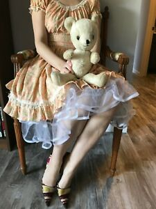 Plush Teddy Bear Vintage Stuffed Toy Jointed Arms Legs - DESIGNED BY CHARACTER