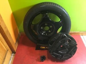 2013 14 15 16 17 18 CADILLAC XTS COMPACT SPARE WITH JACK KIT AND HOLD DOWN BOLT