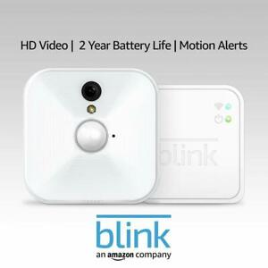 Blink Indoor Home Security Camera System Motion Detection HD Video