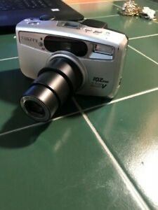 Pentax IQZoom 115V 35mm Point & Shoot Film Camera, TESTED comes with Battery