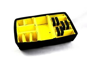 New Yellow Padded Divider Set only fits your Nanuk 935 case