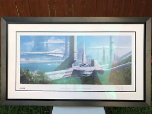 Mass Effect Earth Alliance professionally framed signed & numbered lithograph