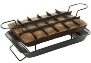 Handy Gourmet Magic Brownie Pan As Seen On TV Baking Tray for Perfect Baking NEW
