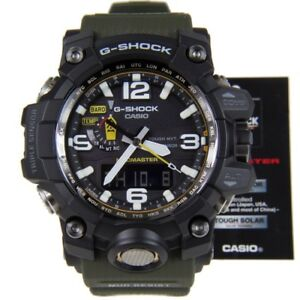 New Casio G-Shock Mudmaster Tough Solar Triple Sensor Men's Watch GWG1000-1A3