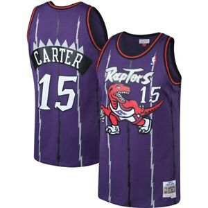 Vince Carter and Tracy McGrady Raptors Jersey #15 and #1 Vintage - Top Quality