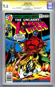 X-MEN #116 CGC 9.6 WP SS SIGNATURE SERIES DOUBLE SIGNED STAN LEE CLAREMONT