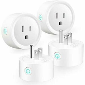 Outlet Switches Smart Plug WiFi Outlets Mini Socket For Home Remote Control