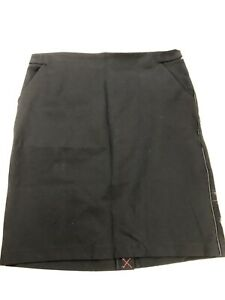 A New Day Black Size 18 Pocketed Women's Straight Skirt NWT