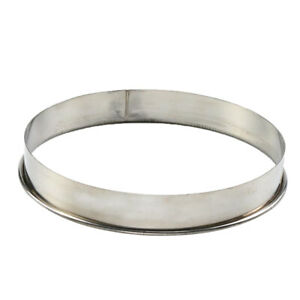 12inch Stainless Steel Metal Ring Baking Molds for Pizza Muffins Crumpets