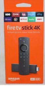 BRAND NEW!! Fire TV Stick 4K HDR with Alexa Voice Remote streaming media player