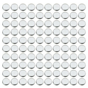 Round Empty Eyeshadow Makeup Tins Pans for Magnetic Palette Box 100pcsPack