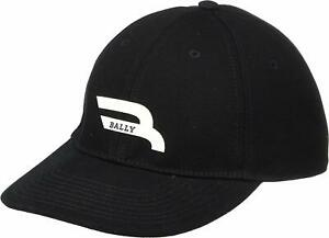 Bally Men'S New Competition Baseball Cap Black Xs (56)