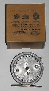 "Rare Vintage Hardy 2 ¾"" Triumph Silex Reel Boxed Circa 1925 1 of 5 Produced"