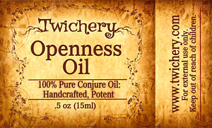 OPENNESS OIL, Restore Communication, Candor, Emotional Intimacy Hoodoo, Pagan
