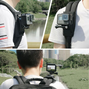 Strap Shoulder Mount Backpack Holder For GoPro Hero For Xiaomi SJ Action Camera
