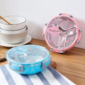 Bento Box Healthy Plastic and Stainless Steel Food Container Portable Lunch Box