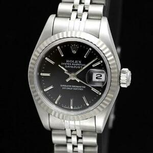 Rolex Oyster Perpetual Datejust 69174 Ladies Watch From Japan [b0529]