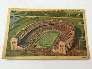 Vintage Antique 1930 1940 Ohio Stadium THE SHOE HORSESHOE Ohio State Football PC