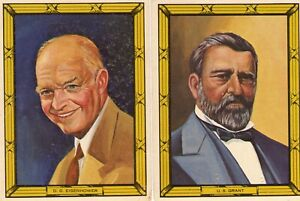 1964 Sales Promo Services Presidents Eisenhower amp; Grant