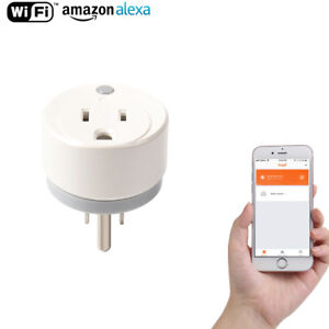 NEO 15A US WiFi Smart Plug Mini Wireless APP Remote Control Timing Outlet Socket