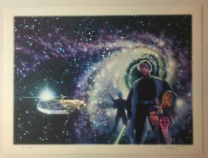 DREW STRUZAN SIGNED ARTIST PROOF GICLEE PRINT STAR WARS CRYSTAL STAR $1,500.00