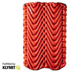 KLYMIT INSULATED DOUBLE Static V Two-person Sleeping Camping Pad - REFU