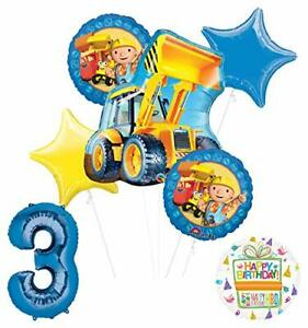 Mayflower Products Bob The Builder Construction Party Supplies 3rd Birthday B...